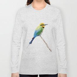 Rainbow Bee Eater by Teresa Thompson Long Sleeve T-shirt
