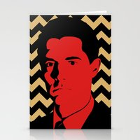 dale cooper Stationery Cards featuring Special Agent Dale Cooper by TwO Owls