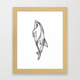 I - Animal Alphabet Framed Art Print