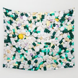 Pills of Life Wall Tapestry