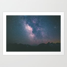 Milky Way III Art Print
