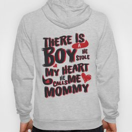 Son He Calls Me Mommy Mother's Day Gift Hoody