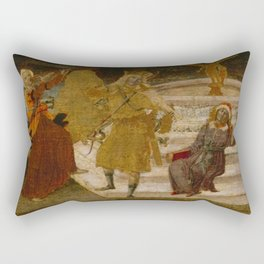 Benvenuto di Giovanni - Apollo and the Muses Rectangular Pillow