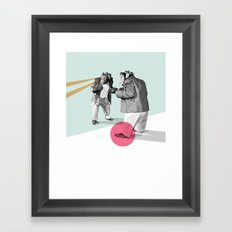mirror, mirror on the wall. Framed Art Print