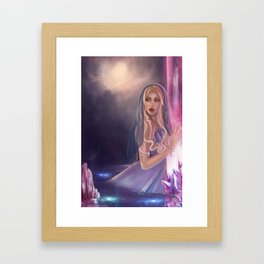 The lament of the stars Framed Art Print