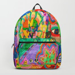 Pop Art World by Elisavet Backpack