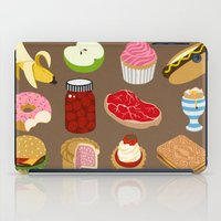 food iPad Cases featuring Food by John Holcroft