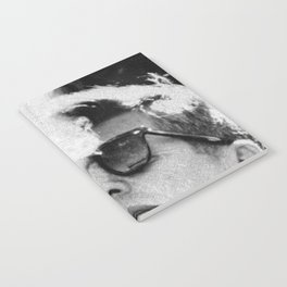 JFK Cigar and Sunglasses Cool President Photo Photo paper poster Notebook