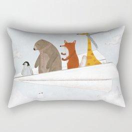 plane sailing Rectangular Pillow