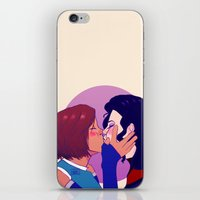 korrasami iPhone & iPod Skins featuring Korrasami Smush Smooch by the-haps