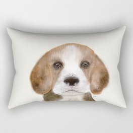 little beagle Rectangular Pillow