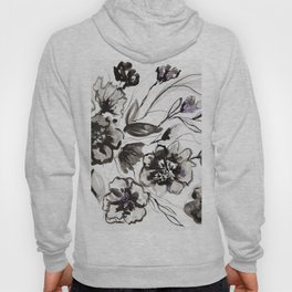 Ink Flowers Hoody