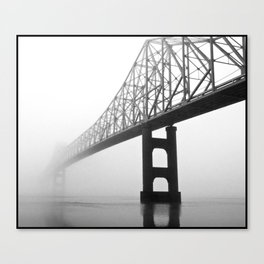 Savanna-Sabula bridge - 2 Canvas Print