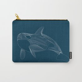 Wild Whale Carry-All Pouch