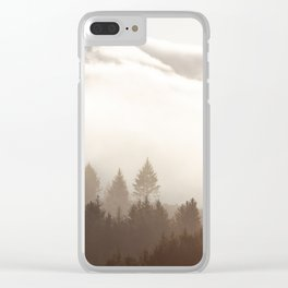 Rising Star Clear iPhone Case