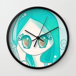 Siha Turquoise Wall Clock