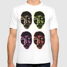 Zombie! White Mens Fitted Tee MEDIUM