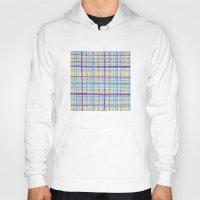 plaid Hoodies featuring Plaid Pattern by Anita Ivancenko