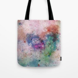 Star Gazer - Abstract, space, ink painting Tote Bag