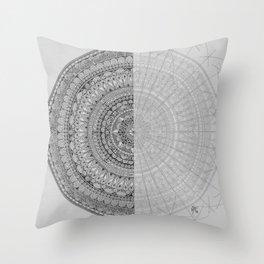 Mandala #1 Throw Pillow