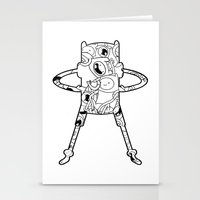 finn Stationery Cards featuring Finn  by 8BOMB