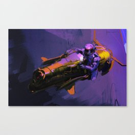 Hoverbike Canvas Print