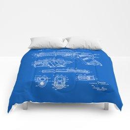 Colt 1911 Handgun Patent - Blueprint Comforters