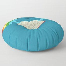 Brainbow Floor Pillow