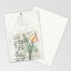 spring time floral Stationery Cards