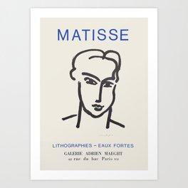 Henri Matisse - Exhibition poster Art Print