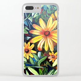 """Petals"" Clear iPhone Case"