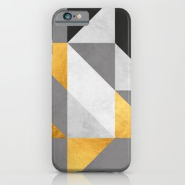 Gold Composition II iPhone Case
