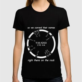 There's a Spirit Can Ne'er be Told... T-shirt