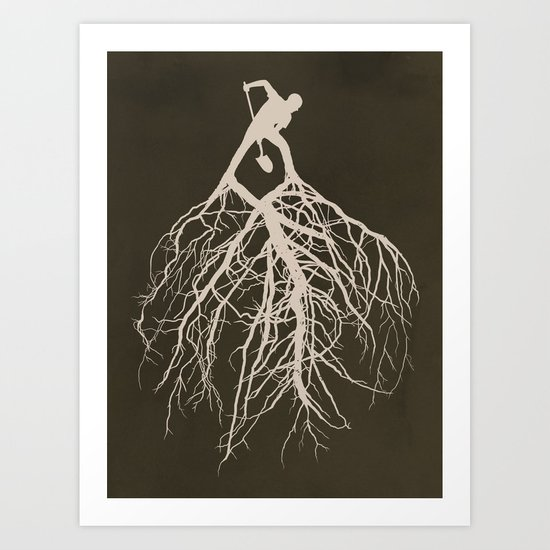 Know Your Roots Art Print
