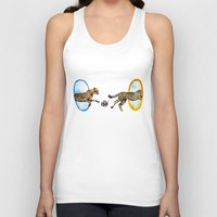 portal Tank Tops featuring Portal by Anna Shell