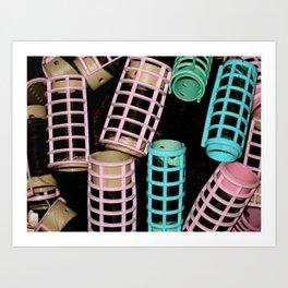 Roller Set Art Print