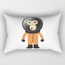 Astronout Ape Rectangular Pillow