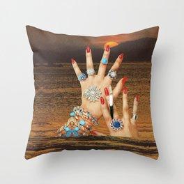 Non-Renewable Brats Throw Pillow