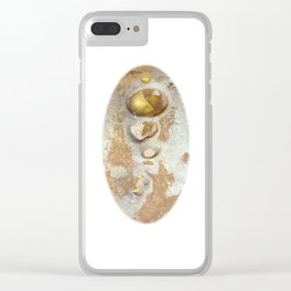 Natures Rock Art 2 Clear iPhone Case