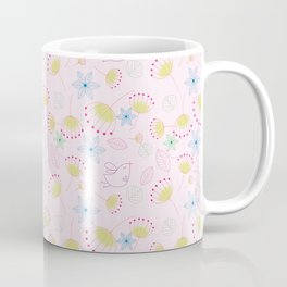 Birds Love Flowers Who Love Birds Coffee Mug