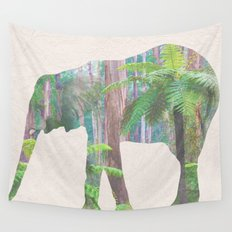 The Lonely Elephant Wall Tapestry