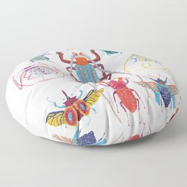 Stitches: Bugs Floor Pillow