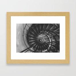 Infinite Spiral Framed Art Print