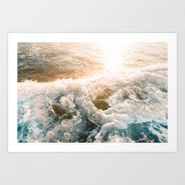 Rays of bliss Art Print