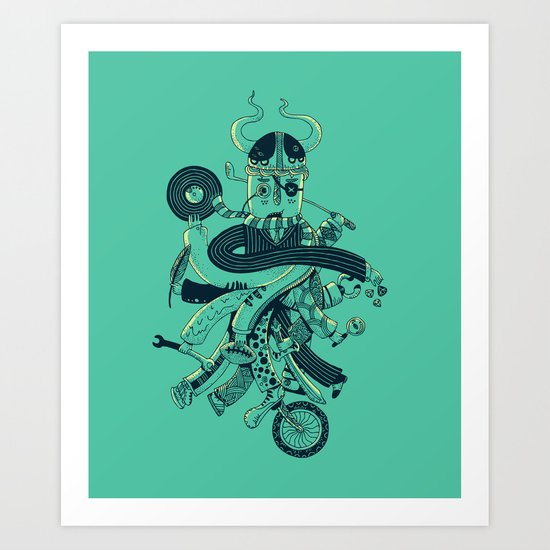 I don't know what to do with my life Art Print