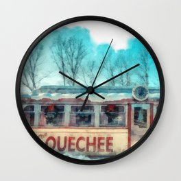 The Quechee Diner Wall Clock