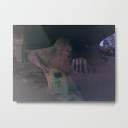 The Fremont Troll Metal Print
