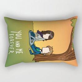Boy X Girl X Forever Rectangular Pillow