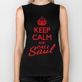 Keep Calm and Call Saul Biker Tank