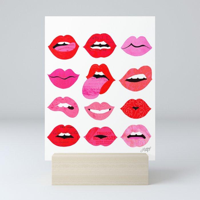 Lips of Love Mini Art Print
